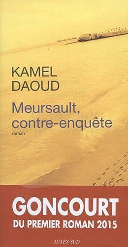 9782330033729: Meursault, contre-enquête - Prix Goncourt du 1er roman