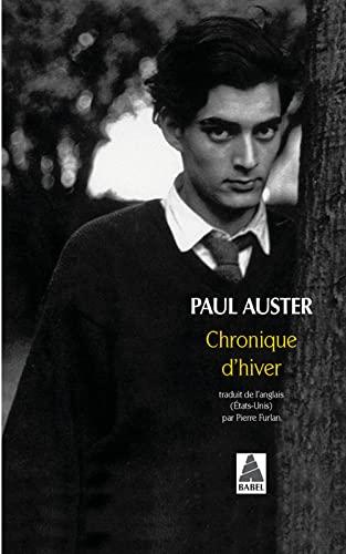 CHRONIQUE D HIVER: AUSTER PAUL