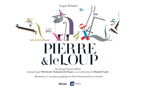 9782330036171: Pierre & le loup (1CD audio)