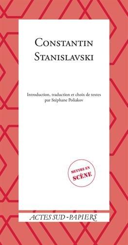 9782330039868: Constantin Stanislavski
