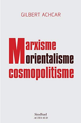 9782330050948: marxisme, orientalisme, cosmopolitisme
