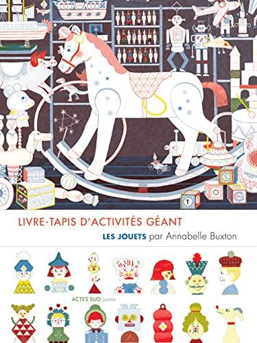 9782330053666: Livre-tapis dactivités géant : Les jouets