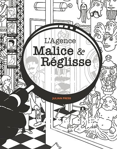 9782330102883: L'agence Malice & Réglisse : Opération dragon jaune : 60 énigmes à résoudre en s'amusant