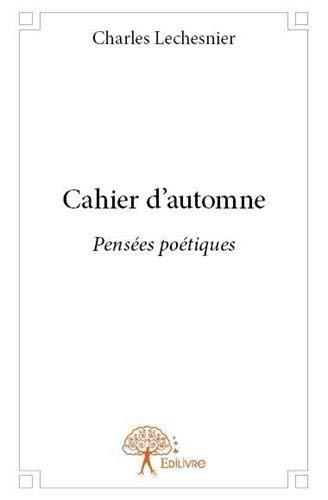 9782332638151: Cahier d'Automne