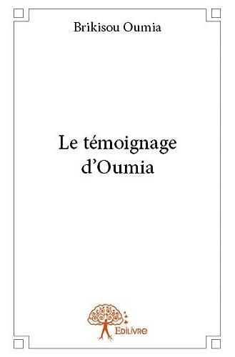 9782332661647: Le Témoignage d'Oumia