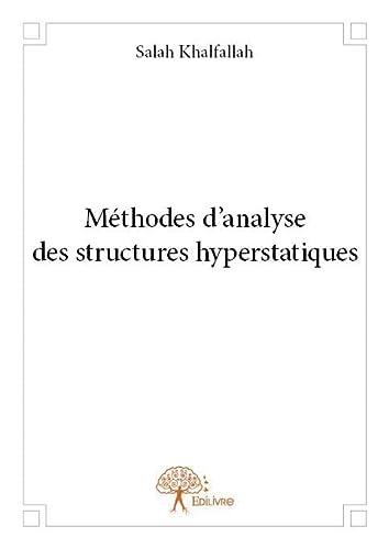 9782332724861: Methodes d?Analyse des Structures Hyperstatiques