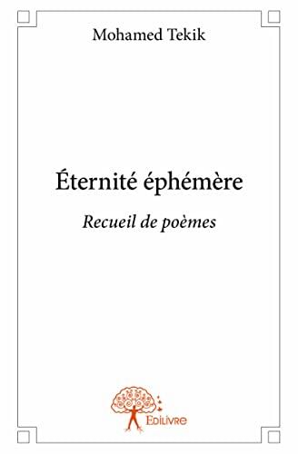 9782332926364: Éternité Ephemere