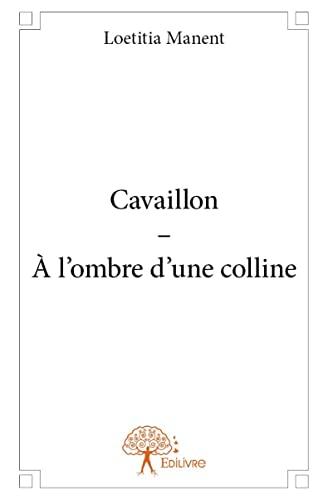 9782332933744: Cavaillon ? a l'Ombre d'une Colline