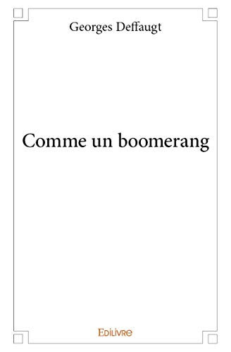 9782332984906: Comme un Boomerang
