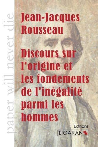 9782335005745: Discours sur l'origine et les fondements de l'inegalite parmi les hommes