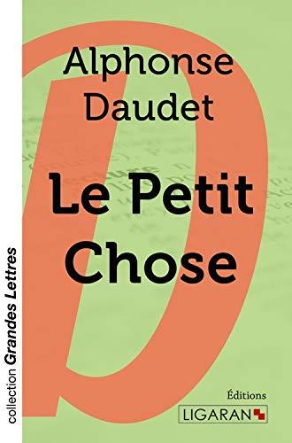 Le Petit Chose (grands caractères): Daudet, Alphonse