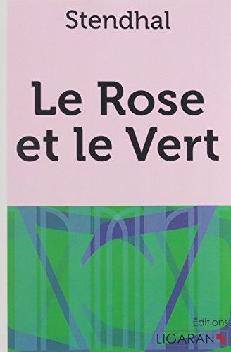 9782335018196: Le Rose et le Vert