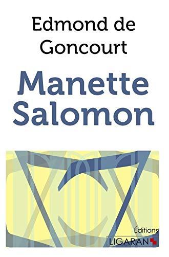9782335018363: Manette Salomon (French Edition)