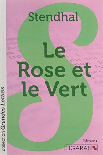 9782335021035: Le rose et le vert