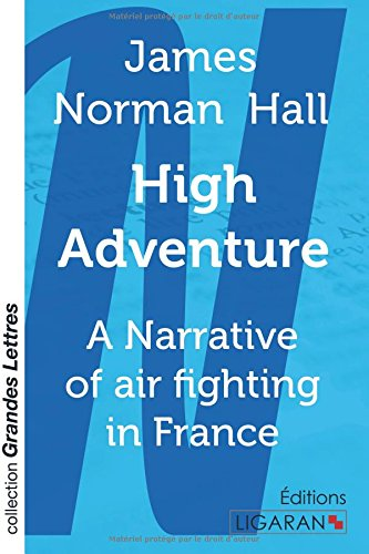 HIGH ADVENTURE GRANDS CARACTERES: HALL J