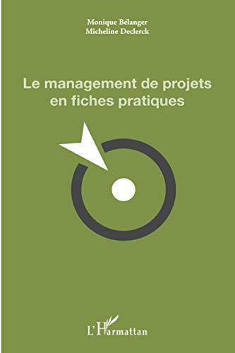 9782336001609: Le management de projets en fiches pratiques