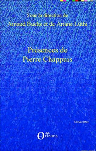 9782336298801: Présences de Pierre Chappuis (French Edition)