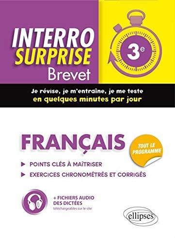 9782340000407: Interro Surprise Brevet Français Troisième