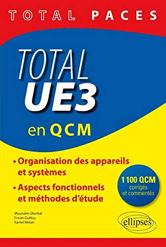 9782340001046: Total PACES UE3 en 1100 QCM Corrigés et Commentés