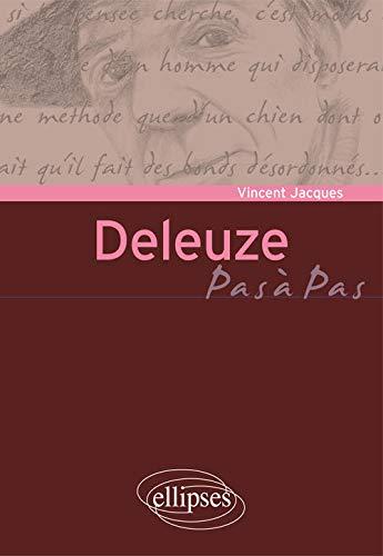 9782340002555: Pas a Pas Deleuze