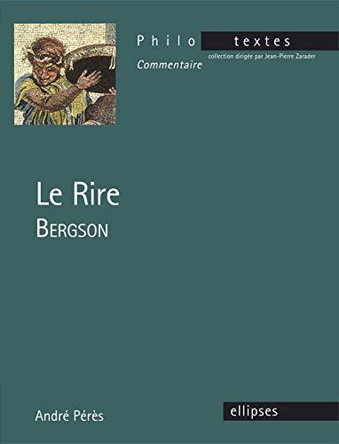 9782340004122: Bergson le Rire