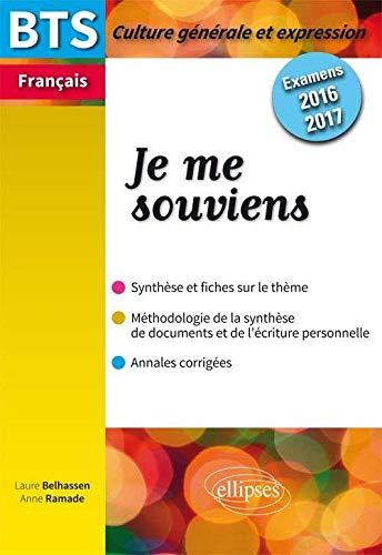 9782340005297: Bts Nouveau Thème 2016-2017