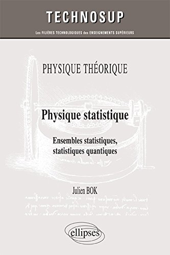 9782340005570: Physique statistique : Ensembles statistiques quantiques niveau C