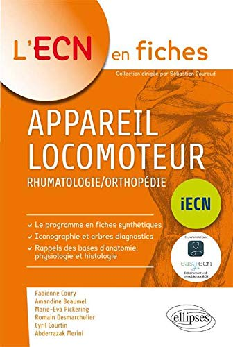 9782340006119: Appareil Locomoteur Rhumatologie/Orthopédie ECN 2016