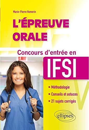 9782340006126: l'Épreuve Orale Concours d'Entrée en IFSI