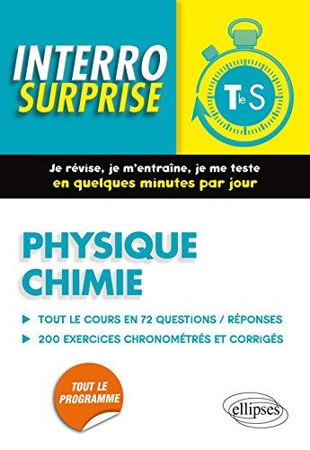9782340006560: Interro Surprise Physique Chimie Tle S
