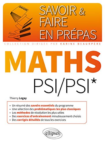 9782340006652: Savoir & Faire en Prépas Maths PSI