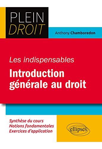 9782340007024: Les Indispensables Introduction Générale au Droit