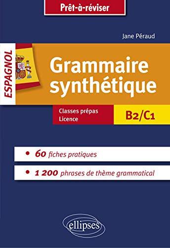9782340007628: Grammaire Synthétique Espagnol 60 Fiches Pratiques B2/C1