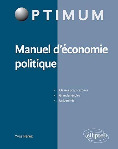 9782340008090: Manuel d'Économie Politique