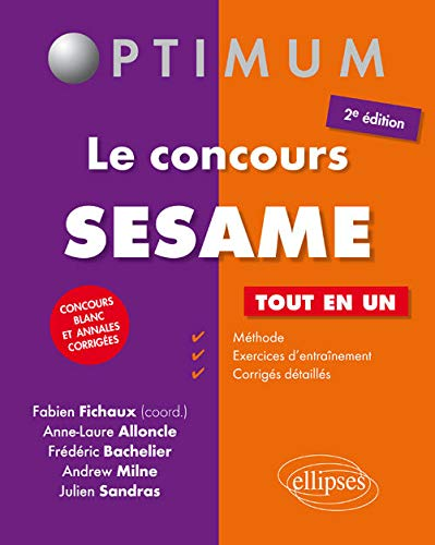 Le Concours SESAME Tout en Un Concours: Anne-Laure Alloncle, Frédéric