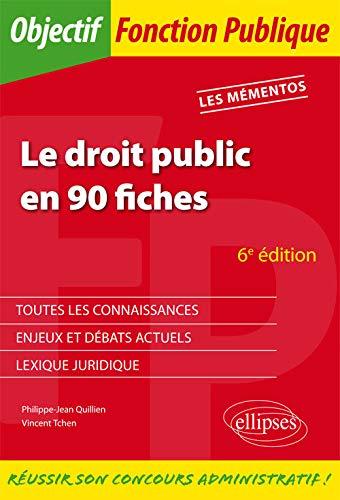 9782340009219: Le droit public en 90 fiches