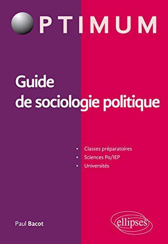 9782340009240: Guide de Sociologie Politique