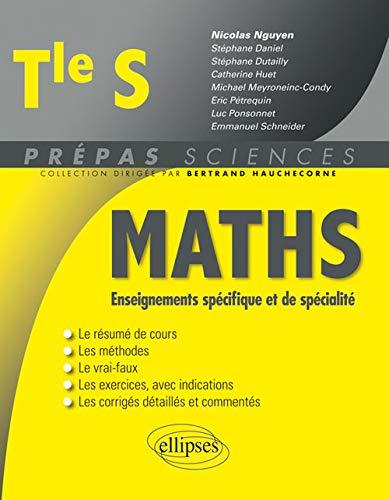 9782340010499: Maths Enseignements Spécifique et de Spécialité Tle S