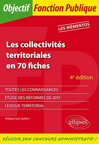 9782340010505: Les Collectivit�s Territoriales en 70 fiches