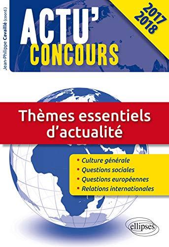 9782340012905: Thèmes essentiels d'actualité (Actu concours)
