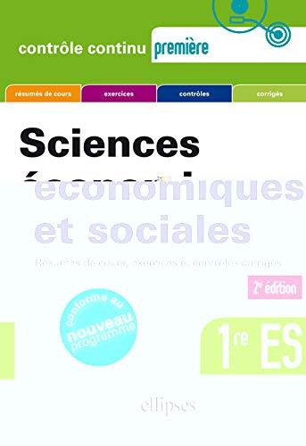 Sciences Economiques et Sociales Premiere Es Deuxième: Bruno