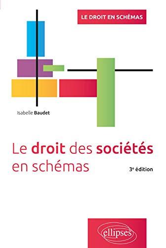 9782340023031: Le droit des sociétés en schémas - 3e édition
