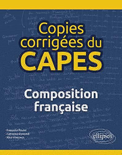 9782340026780: Copies corrigées du CAPES - Dissertation française