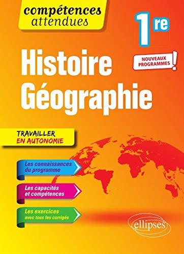 9782340031050: Histoire-géographie - Première - Nouveaux programmes