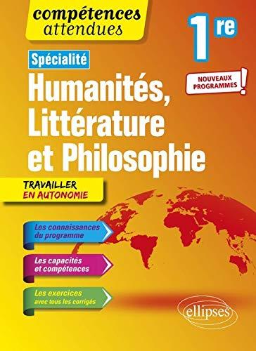 9782340031630: Spécialité Humanités, Littérature et Philosophie - Première - nouveaux programmes