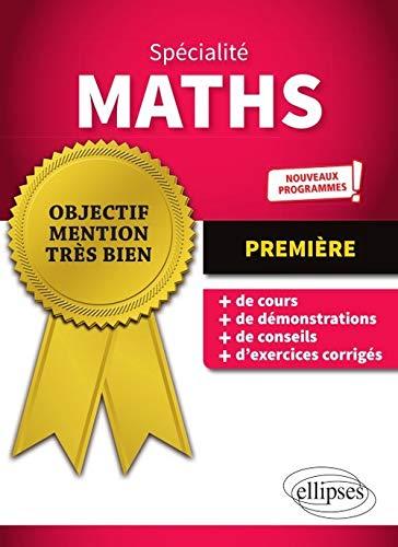 9782340032118: Spécialité Mathématiques - Première - Nouveaux programmes