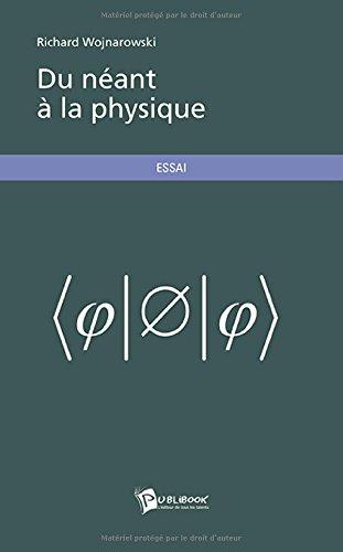 9782342021905: Du néant à la physique