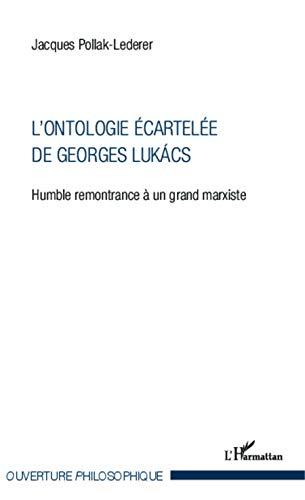 9782343023540: L'ontologie écartelée de Georges Lukács