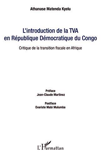 9782343032559: L'introduction de la TVA en R�publique D�mocratique du Congo