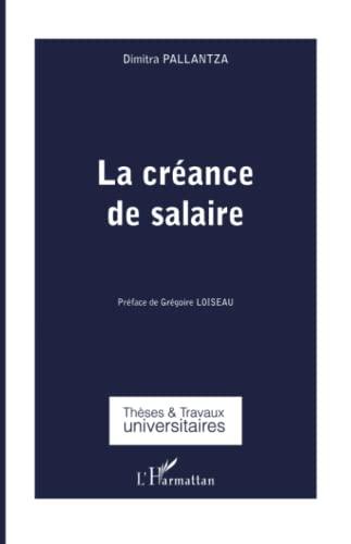 9782343042565: La créance de salaire